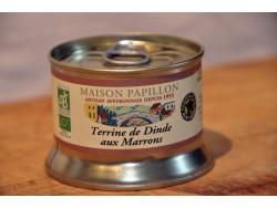 Terrine Bio de dinde aux marrons
