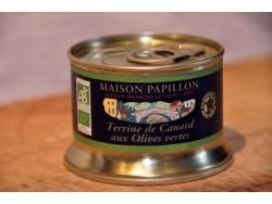 Terrine Bio de canard aux olives vertes
