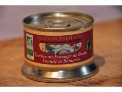 Terrine au Fromage de Brebis Tomates Romarin