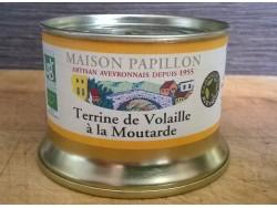 Terrine Bio de Volaille à la Moutarde