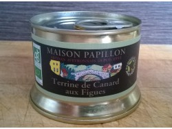 Terrine Bio de Canard aux figues