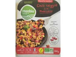Chili veggie à la mexicaine Bio