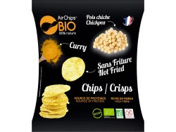 Chips Pois chiche Curry Bio