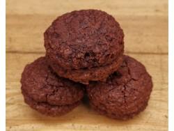 Macarons Amande Chocolat Bio