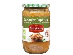 Cassoulet au Canard et Saucisses de Toulouse Bio